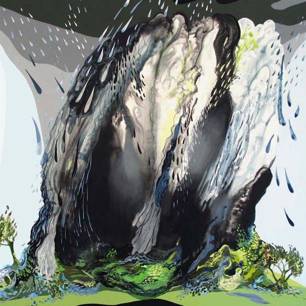 downpour | oil & acrylic on canvas | 42x48″ | 2005
