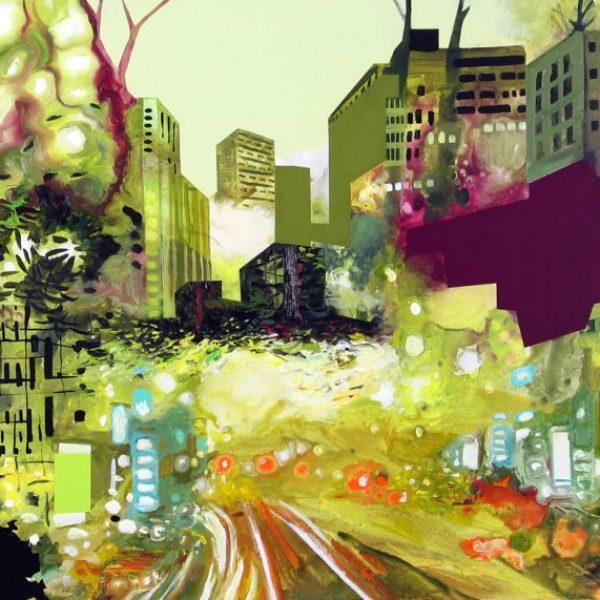 neosublime disorder| oil & acrylic on canvas | 30x42″ | 2011